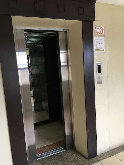 Though walking is good for the heart,  Elevator services also available if you like