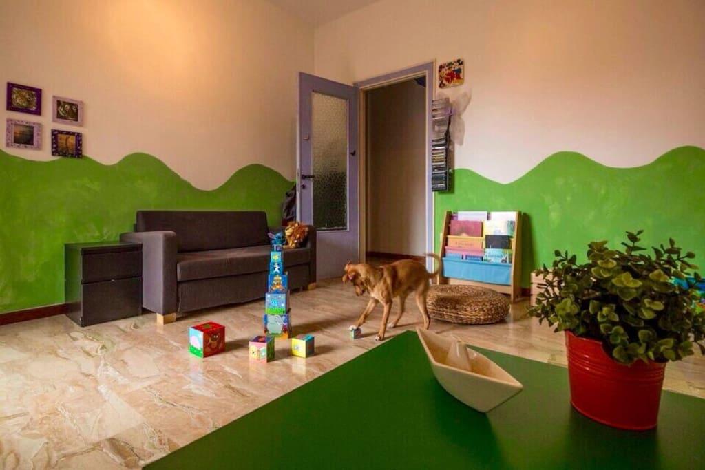 La camera degli ospiti