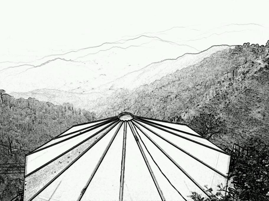SKETCH OF THE VIEW