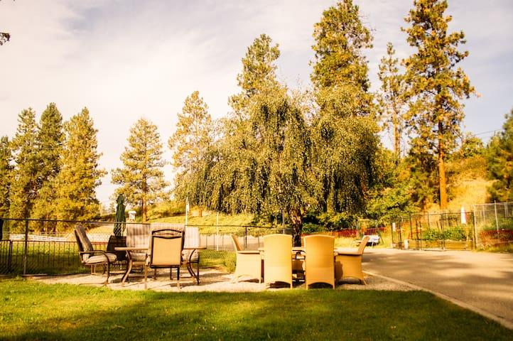 Beautiful outdoor dining area