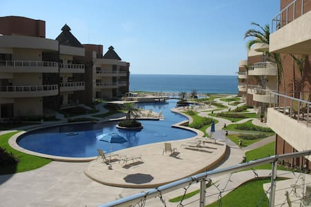 Playa Grande Resort Ocean Front 3 Bedroom Condo - Cihuatlán - Kondominium