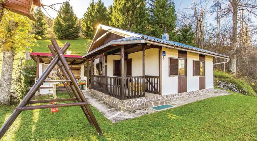 Vacation house/chalet Gorska idila - Brestova Draga - กระท่อมบนภูเขา