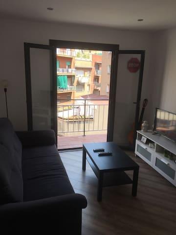 Habitación privada a 3 minutos del Camp Nou.