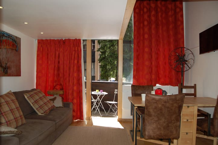 22-BRUYERES - at the foot of Lognan les Grands Montets ski resort - ARGENTIÈRE - Appartement