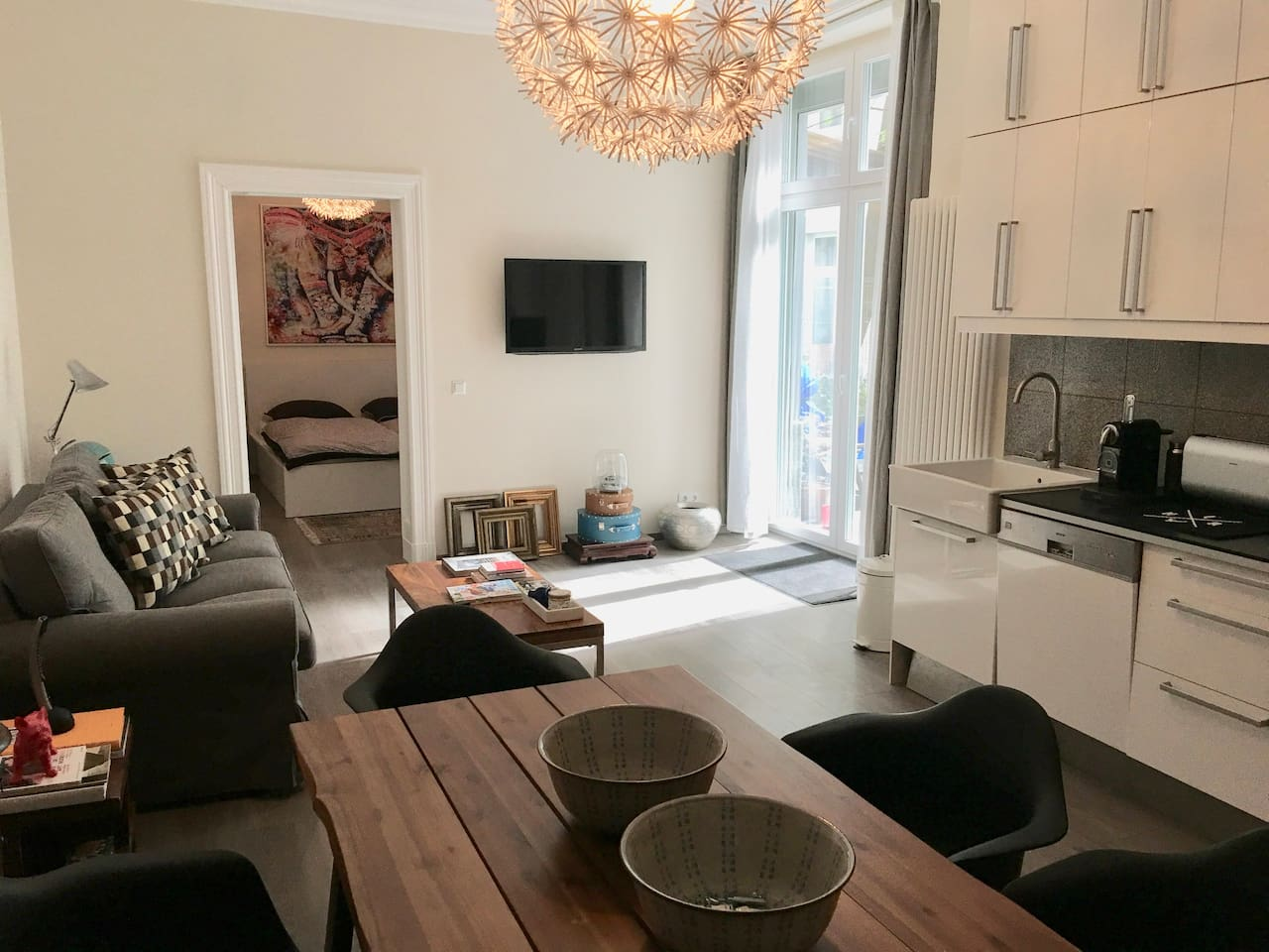 Airbnb in Mitte Berlin Germany