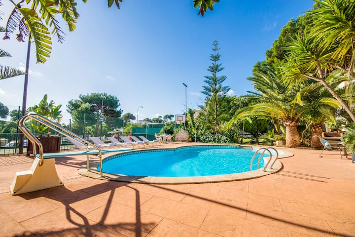 Sol de Mallorca 3: Pool, strandnah, Tennis, Wifi! - Cala Mesquida - Apartment