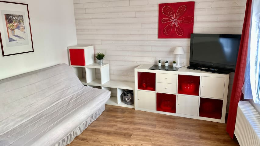Appartement 2 pièces dans le centre de Balaruc