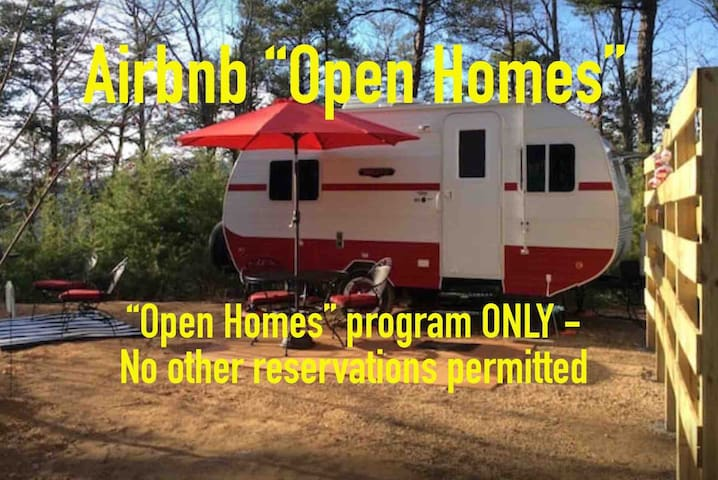 Airbnb Open Homes Program ONLY - Retro Glamper