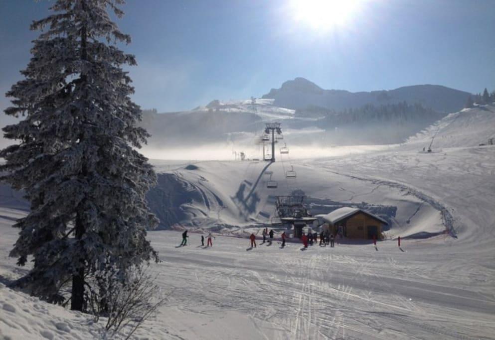 Station de ski à 20 mn
