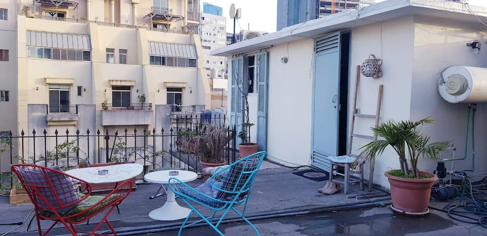 Rooftop Studio in the heart of Beirut