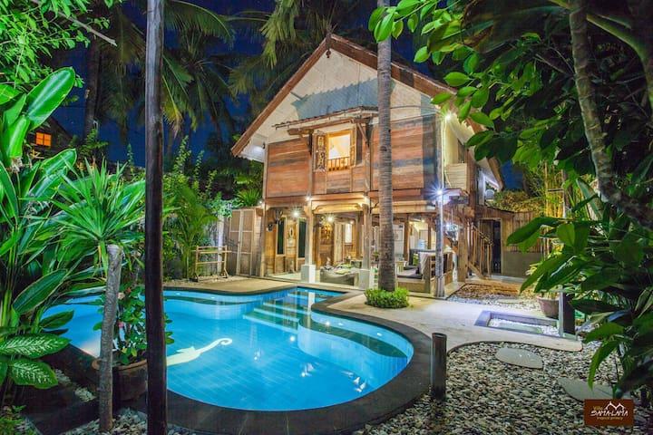 Villa SAMALAMA 2 bedrooms with pool Gili Trawangan