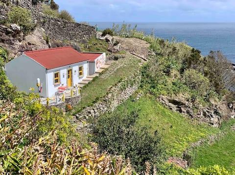 Casa Pedras Brancas, vue imprenable sur la mer, WLAN/WiFi