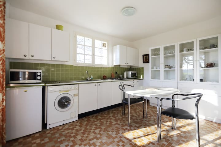 Fully independant unit with washer/dryer