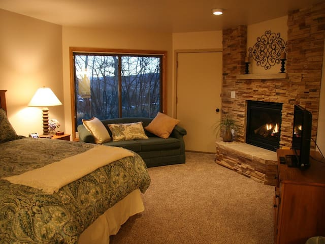 Two Master Suites | Located Between Vail & BC