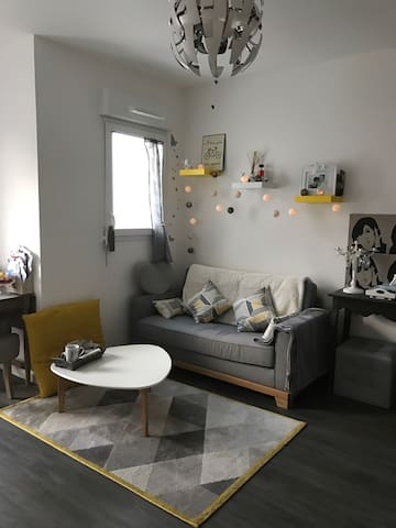 APPARTEMENT COCOONING A BEAUREGARD - Rennes - Apartment