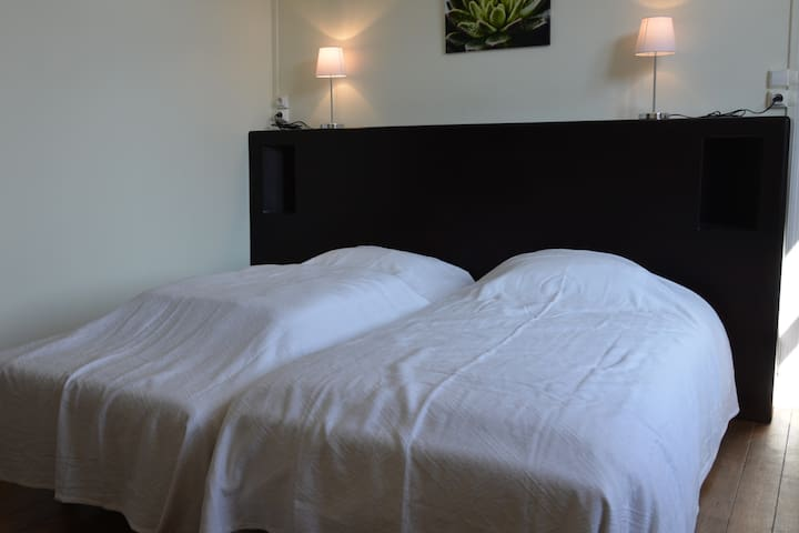 Chambre 2 lits simples - Appartement 9