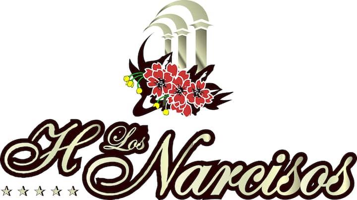 Bienvenidos a Hotel Hacienda los Narcisos