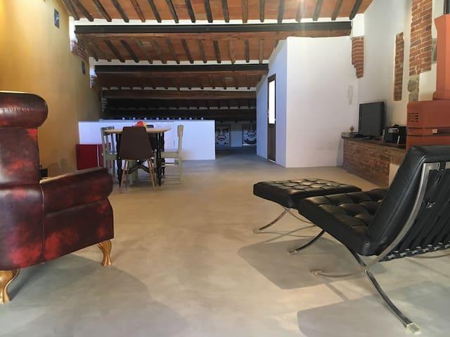Un Loft nel cuore di Lucignano.