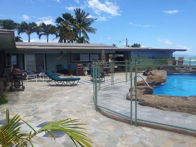 Oceanfront Beach House Unit C - Ewa Beach - Huis