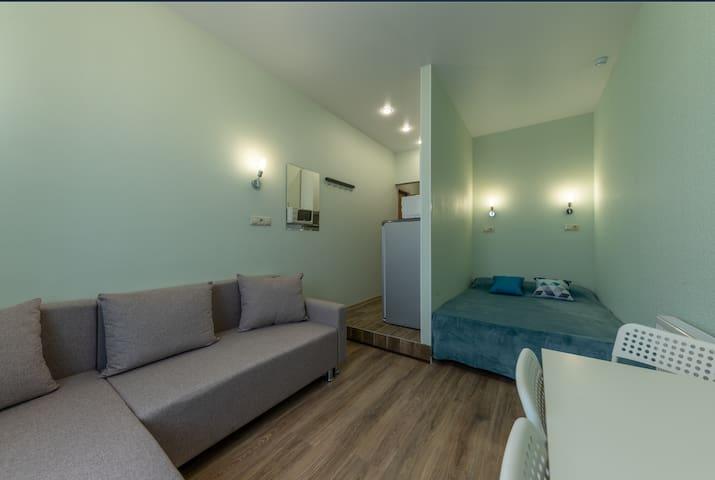 Современная квартира- студия в Солнцево-парк