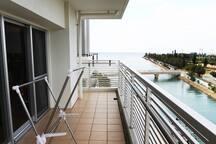 Ocean view!5min beach/American village 10min!