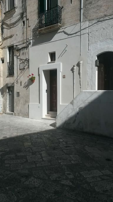 """Visione diurna dell'ingresso della Casa Vacanze """"Arco Cattedrale"""""""