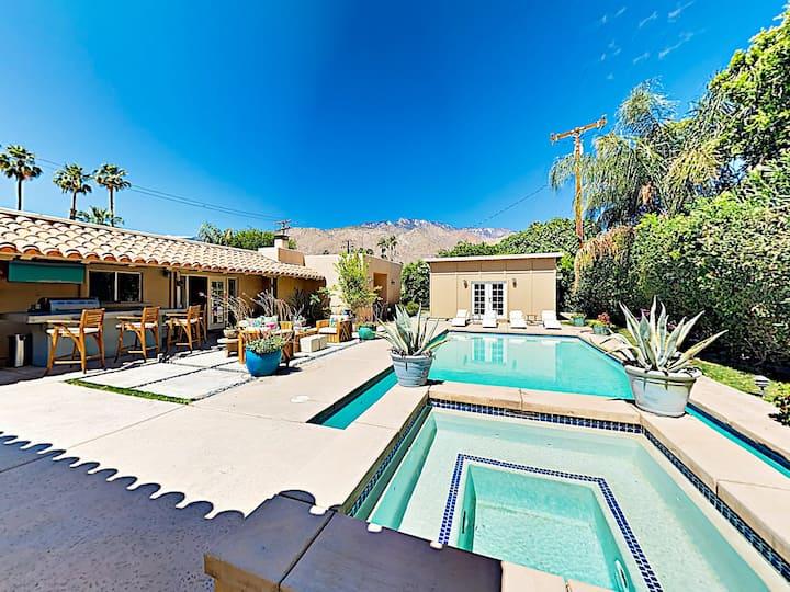 Movie Colony Desert Retreat with Pool & Hot Tub
