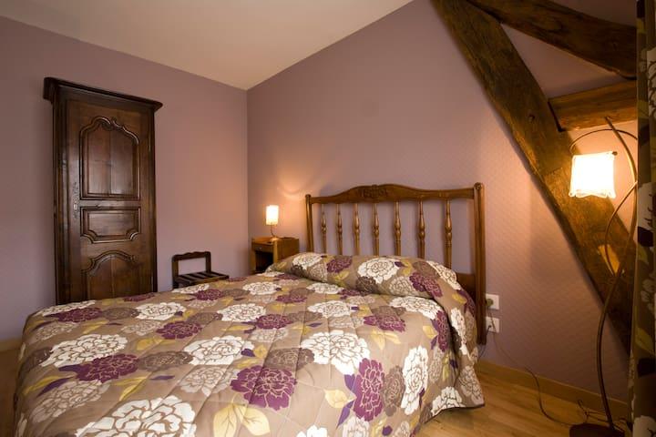 chambre Prune