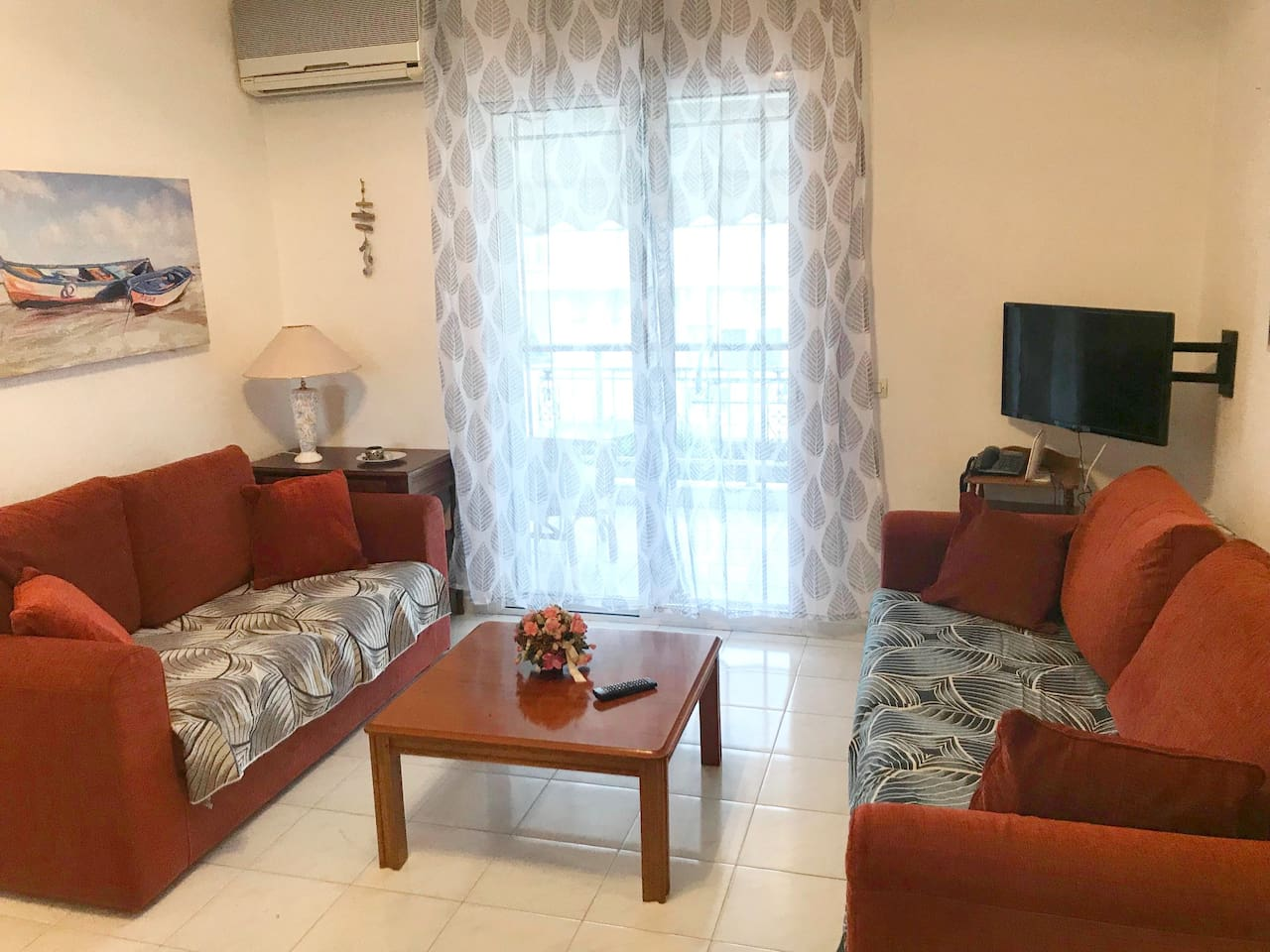 Living room. Apartment,  2nd floor, 2 bedrooms  for 4 persons