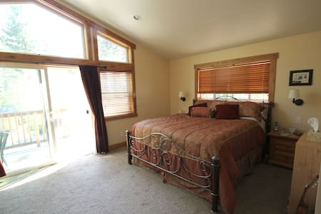Centrally Located N. Tahoe Master Suite - Tahoe City - House