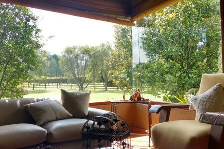 Finca Llanogrande, lindo paisaje - Rionegro, llanogrande-