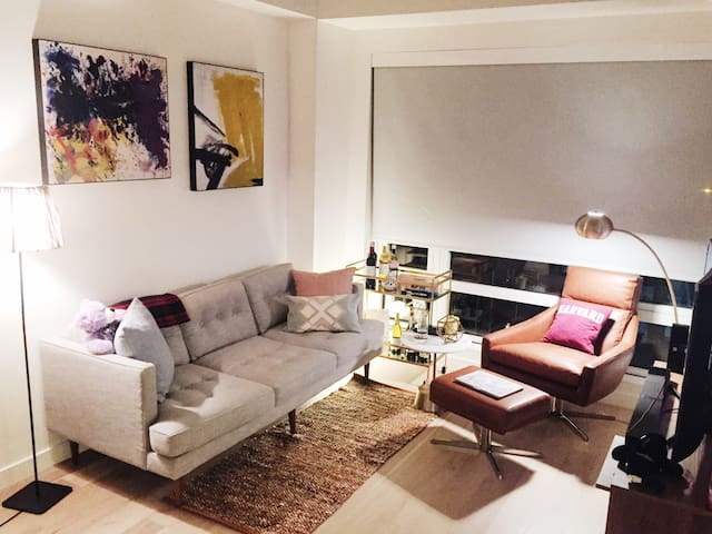 Artsy Luxury one bed Boston South End - Boston - Appartement