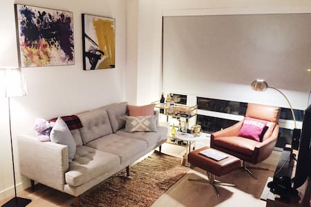 Artsy Luxury one bed Boston South End - ボストン - アパート