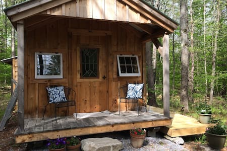 Peaceful Retreat - woodland cabin by the pond - Topsham - Chatka