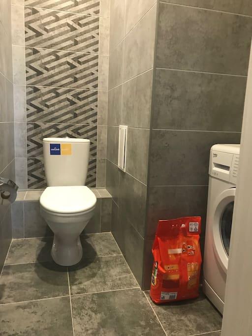 Второй туалет