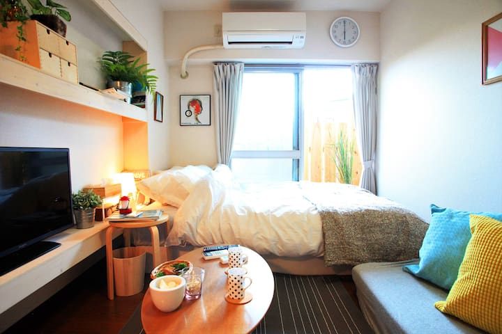 10sec from subway station,9min from Nagoya station - Nakamura-ku, Nagoya-shi - Apartamento