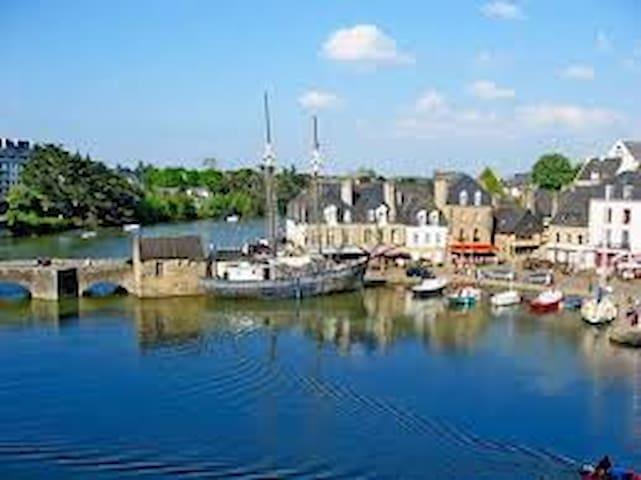 Maison 1930 rivière d' AURAY  port  Saint Goustan