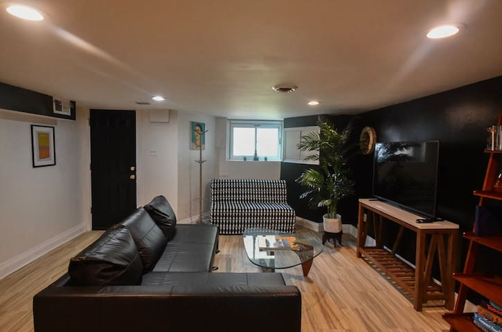 Newly renovated English Basement in Bloomingdale