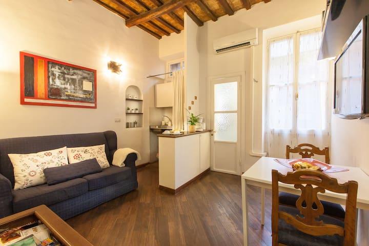 Living Room sofa Kitchenette