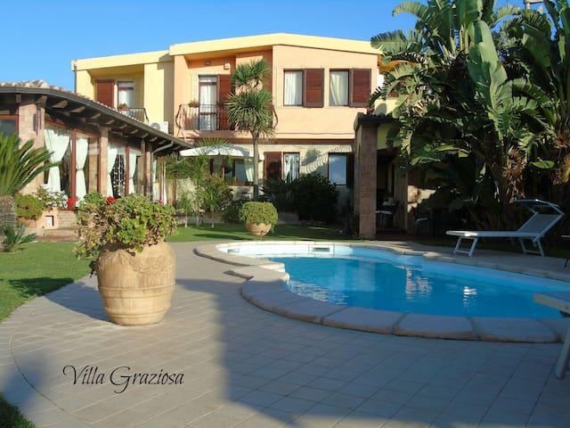 Villa Graziosa un Oasi Romantica - Quartu Sant'Elena - Villa