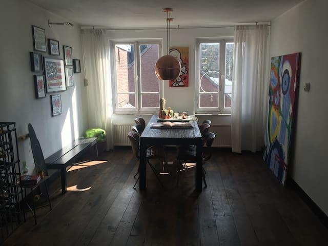 Sfeervol appartement hartje centrum - 's-Hertogenbosch - Huoneisto