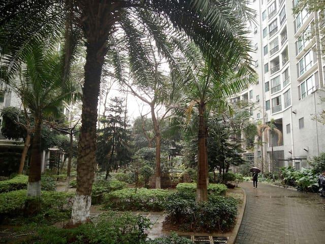 城市风景 交通极为便利,生活设施完善的70平米舒适2+2户型 - Zhuhai - Daire