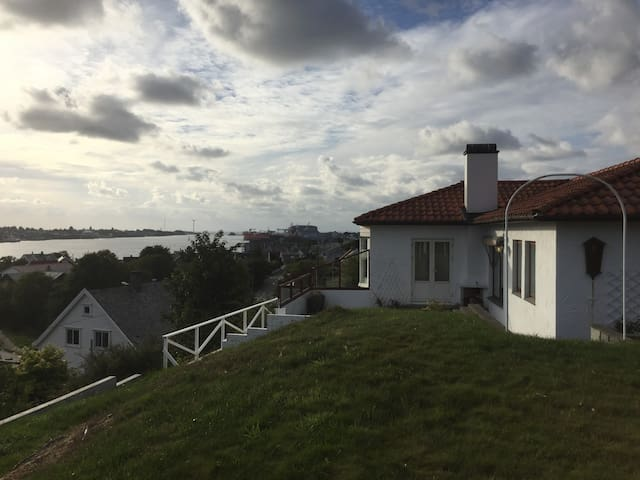 House with a beautiful sea view