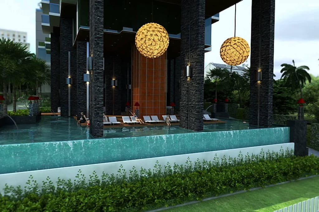 ground floor pool area.. luxury without limits