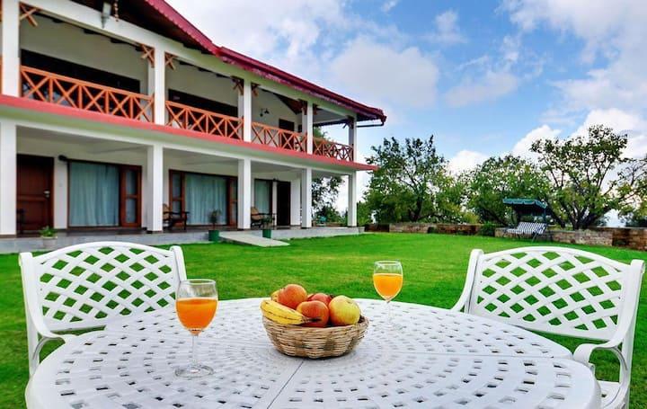 Organic Luxury Resort in Mukteshwar