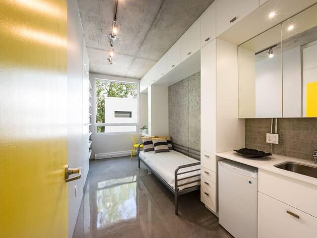 Edison Residence-single/min.35 nights-Street level
