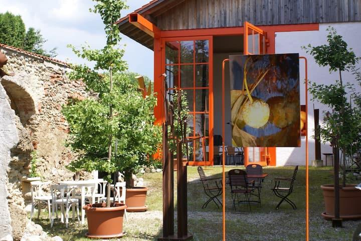 Privatzimmer II im Künstlerhof ARTworld