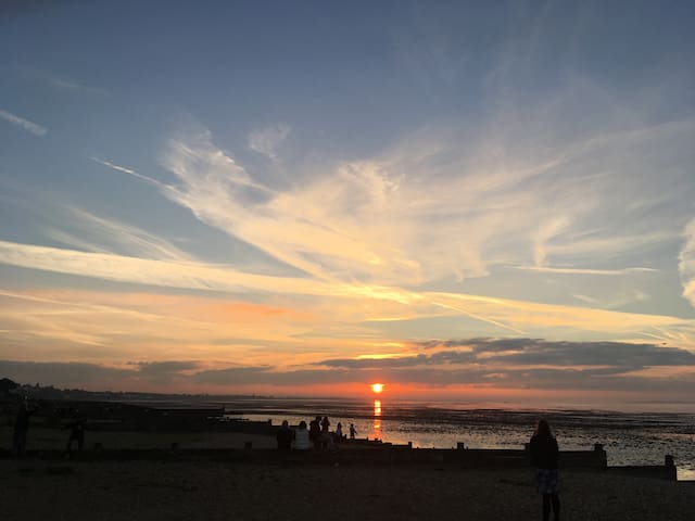 Whitstable enjoys some of the best sunsets ever!