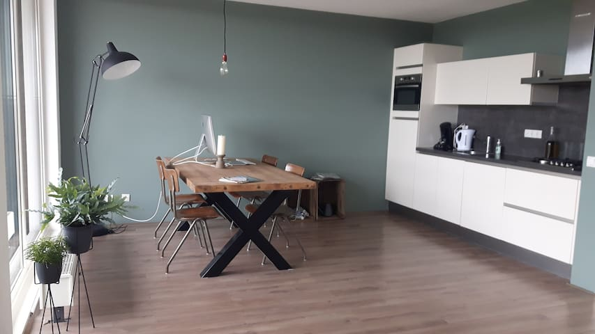 Modern apartment on the 15th floor near Amsterdam - Zaandam - Byt