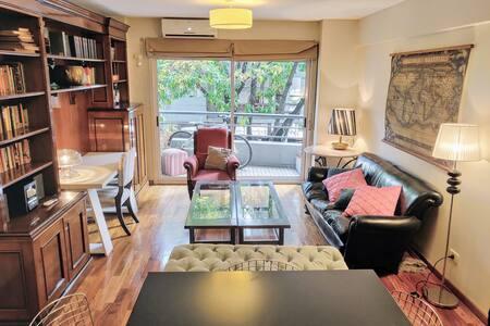 Luminoso 2 habitaciones con cochera